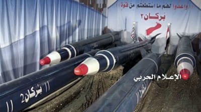 Yemen's Houthis fire ballistic missile at Riyadh