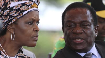 Who are the key players in the Zimbabwe crisis?