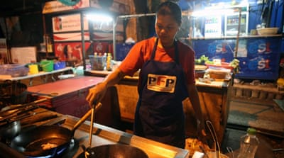 Thai street food sellers battle Bangkok's clearance campaign