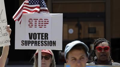 US: Groups warn voter suppression only getting worse