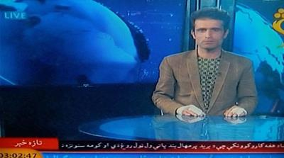 Shamshad TV news reader's courage leaves Afghans in awe