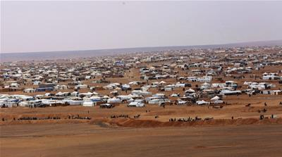 Syrian refugees trapped in a no man's land