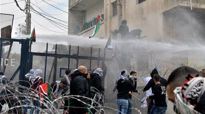 Palestinians clash with police at US embassy in Lebanon