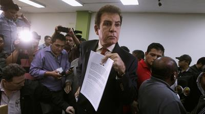 Honduras opposition request election results annulment