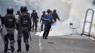 Honduras army, police crack down on election unrest