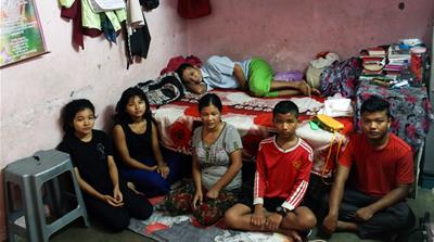 Myanmar's stateless Chin endure refugee life in India