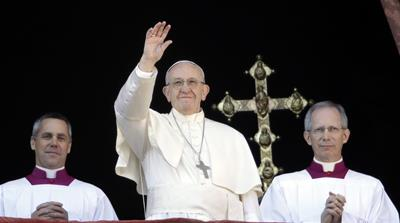 Pope warns of 'winds of war' in Christmas message