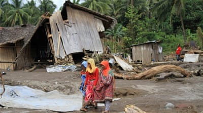 Villagers struggle in aftermath of Philippines storm