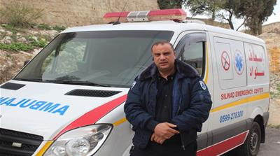 'I fear being shot': A Palestinian paramedic's account