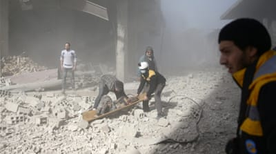 UN says 400,000 civilians trapped in Syrian enclave