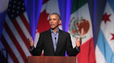 Obama reacts to Trump's pullout from Iran nuclear deal