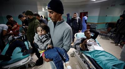Gaza: Two dead in Israeli attack amid Jerusalem unrest