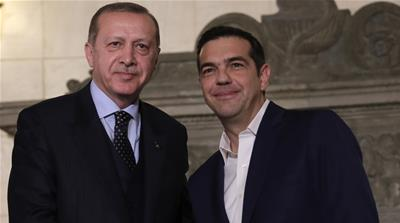 Grandstanding 'derails' Greek-Turkish rapprochement