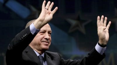 If passed, the constitutional amendments will fundamentally change the way Turkey is governed [AP]