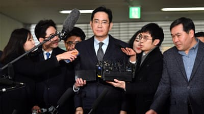 South Korea summons Samsung chief in graft case, again