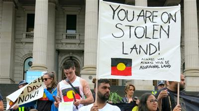 "For many Aboriginals, Australia Day on January 26 is ""Invasion Day"" [Reuters]"
