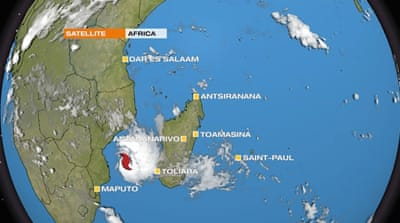Tropical Cyclone Dineo bears down on Madagascar