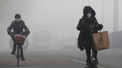 Red Alert for China's pollution protesters