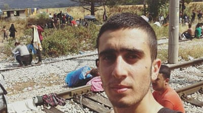 How a selfie with Merkel changed Syrian refugee's life