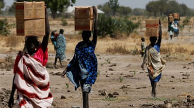 Famine has been declared in several areas of the Unity State in the north of South Sudan [Siegfried Modola/Reuters]