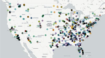 Updated Maps Of The Middle East And Africa Al Jazeera - Map of hate groups in us