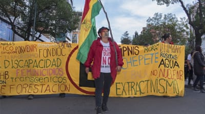 Protests over Morales expose divisions among Bolivians