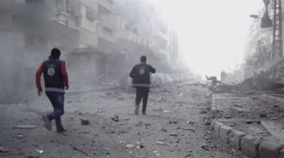 Governor of Homs said three blasts killed 32 people [User Generated Content via Al Jazeera]