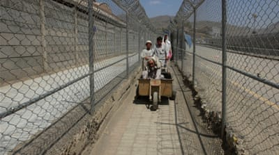 Previously, both Afghans and Pakistanis crossed the border without visa [Reuters]