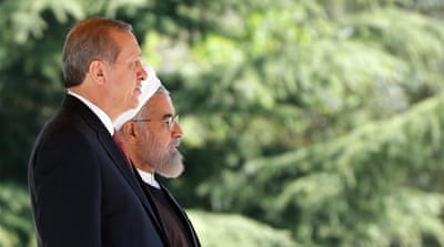 What is behind the hostility between Iran and Turkey?