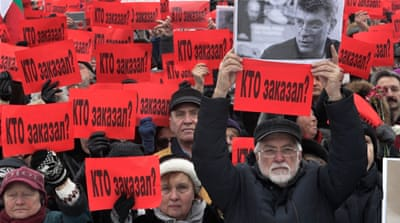 Boris Nemtsov was an outspoken critic of President Vladimir Putin [Dmitri Lovetsky/AP]