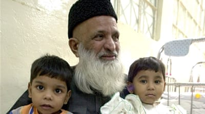 Edhi was known as the 'Angel of Mercy' in Pakistan [AP Photo]