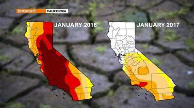 End in sight for the western US drought