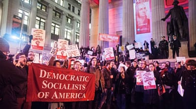 The Democratic Socialists of America gained 2,000 new followers in the past two weeks [Courtesy of DSA]