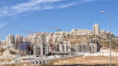Settlement construction on occupied Palestinian territory close to Jerusalem [Mikkel Bahl/Courtesy of Danwatch]