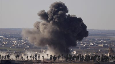 Russia and Turkey have both been conducting air strikes on al-Bab [File: Khalil Ashawi/Reuters]