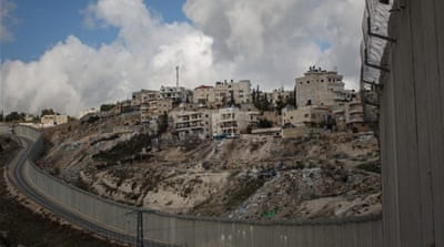 Entrenching Israeli settlements in Palestinian land
