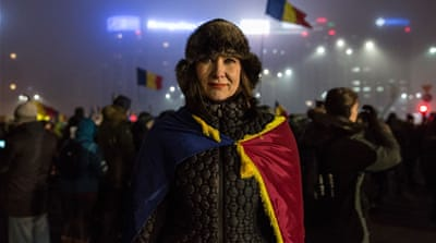 Romania protests: Voices from the street