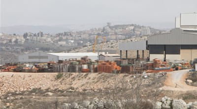 Palestinians decry West Bank industrial zone expansion