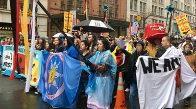 Native Nations Rise brings DAPL protest to Washington