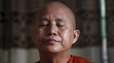 Wirathu silenced by Myanmar's top Buddhist body