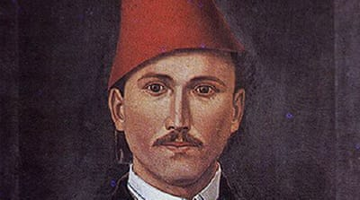 Self-portrait of Bulgarian artist and revolutionary Georgi Danchov who was exiled in Diyarbakir for his anti-imperial activities [Wikipedia]