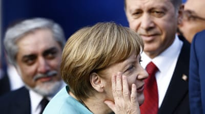 Chancellor Angela Merkel said she's unwilling to play Erdogan's 'game' [File: Kacper Pempel/Reuters]