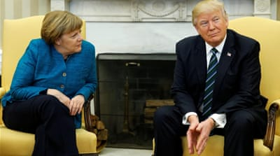 War of words between Trump and Merkel continues