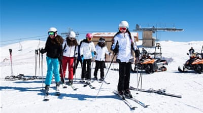 Hitting the slopes at Lebanon's oldest ski resort