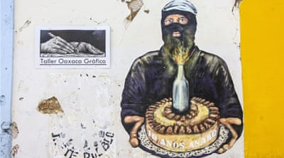 Oaxaca's revolutionary street art