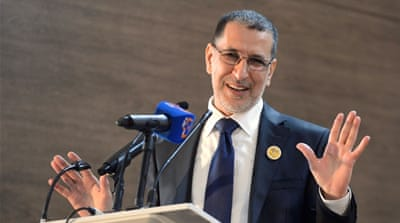 Prime Minister Saad Eddine el-Othmani said he would proceed with his coalition 'step by step' [REUTERS/Stringer]