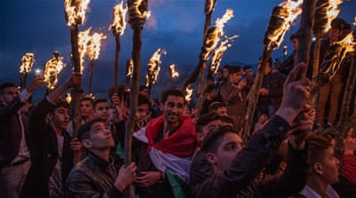 Kurds in Iraq ring in the new year