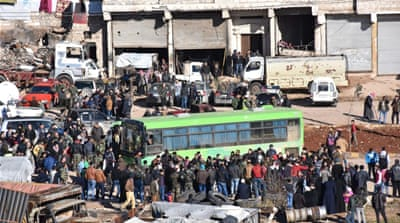 Syria's green buses: Symbol of a seismic shift