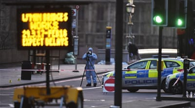 The attack on Westminster Bridge left five people dead, including a police officer and the attacker himself [Reuters]