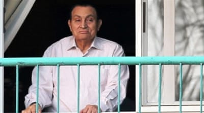 Mubarak was acquitted on March 2 from charges related to the 2011 uprising [File: Reuters]